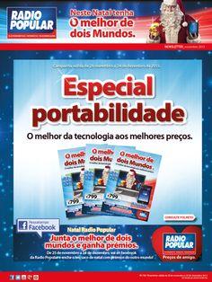 Newsletter - Folheto especial portabilidade já disponível!  http://www.radiopopular.pt/newsletter/2013/113/