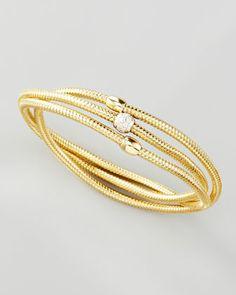 Primavera Diamond Wrap Bangle by Roberto Coin at Neiman Marcus. $2500.00