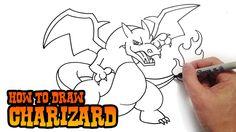 How to Draw Charizard- Pokemon
