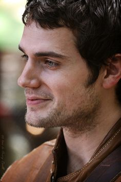 Henry Cavill...how cute is that smile?
