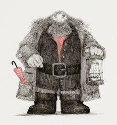Hagrid by audreybenjaminsen  gif