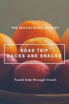 Road Trip Hacks and Snacks - The Educational Tourist Packing For A Cruise, Vacation Packing, Packing List For Travel, New Travel, Paris Travel, Travel Goals, Family Travel, Travel Tips, Packing Tips
