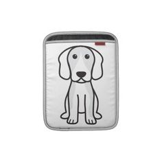 Beagle Dog Cartoon iPad Sleeves