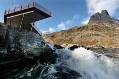 Туристический комплекс Trollstigen в Норвегии
