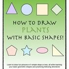 Learn to draw using basic shapes! This book contains 10 fun-to-draw plants, all explained in 5 easy steps or less. Learn your shapes, colors, and h...