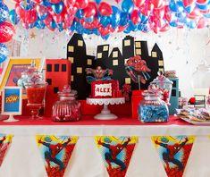 Spiderman Birthday Party Ideas | The Treats Table