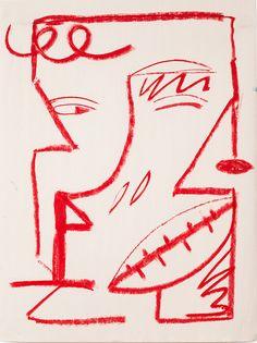 Ana Kraš - oil sticks on paper
