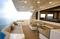.the private yacht . Oh yes .