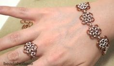 The Beading Gem's Journal: Japanese Chain Maille Jewelry Tutorials