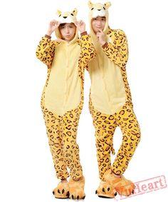 Adult Leopard Tiger Couple Onesies   Pajamas   Costumes. Couples  OnesiesTiger CostumeOnesie DressAnimal ... 79e18af27