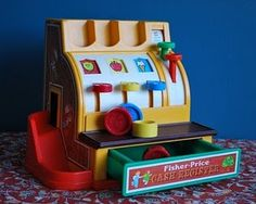These were everywhere! It must have been a cheap toy because all waiting rooms seemed to have one of these.