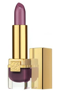 Here is another Estée Lauder product for your metallic makeover! LOVE!!! 'Pure Color' Vivid Shine Lipstick. These colors are delicious! They have a metallic sheen. Its formula features amplified gold and silver pearls that create dimensional, luminous effects while refined silver and gold pearls provide you with a smooth, chrome finish. I'm going to try Coral Halo! Available at Nordstrom.