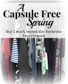 A Capsule Free Spring. Or why I will not repeat the wardrobe experiment || Funky Jungle - Mindful fashion and quirky personal style blog