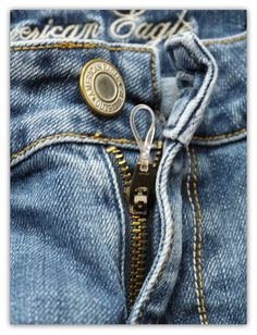 Quick Fix for a Loose Zipper!!! Pants saver!!!| SweetLittleBluebird.com