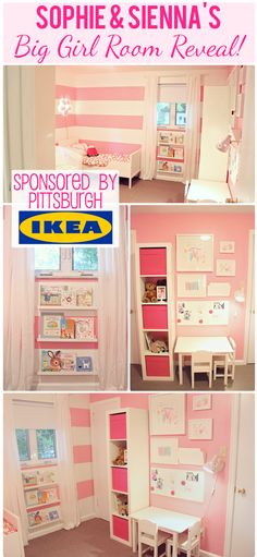 The Busy Budgeting Mama: VLOG: IKEA Big Girl Room Reveal- $500 IKEA GIVEAWAY!