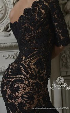 Irish crochet &: IRISH LACE DRESS ... ПЛАТЬЕ ИРЛАНДИЯ