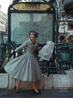 The Style Files: 1950s Dior - Absolute Vintage