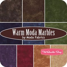 Warm Moda Marbles Charm Pack SKU# 9880PP-14 - Fat Quarter Shop