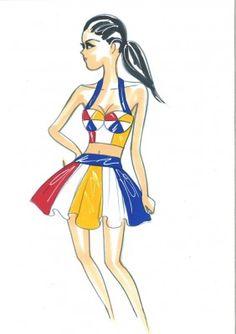 KATY PERRY SUPERBOWL DRESSES