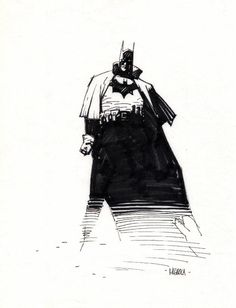 Batman by Mike Mignola ✤ || CHARACTER DESIGN REFERENCES | キャラクターデザイン | çizgi film