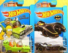 Hot Wheels 2015 E Case Batmobile