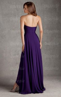 Hot Style Purple Bridesmaid Dress BNNAJ0006-Bridesmaid UK