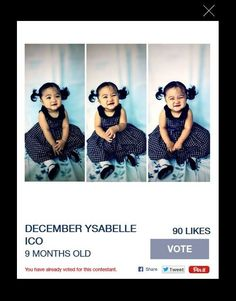 GAP Kids Class of 2014  Pls Vote December Ysabelle Ico to be the Fan Favorite of Class Of 2014…