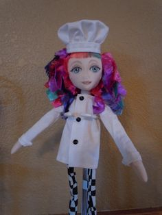 The little chef by Laura of DollsNStuff on Etsy