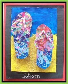 Room 16 Jandal Art - Junior School - Gallery Of Work 2012 - Peninsula Primary