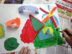 What Does Sound LOOK Like?   Art Lessons For Kids