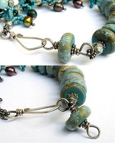 awesome DIY Bijoux - Art Bead Clasp