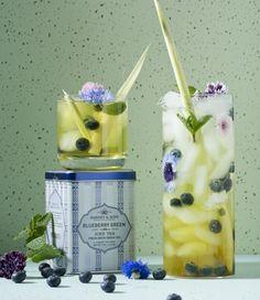 Blueberry iced tea #icedtea #thisistea #harneyteas