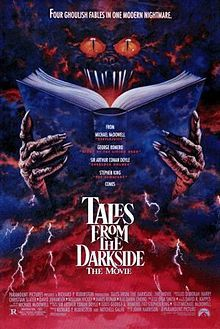 "5/4/1990 - Tales from the Darkside: The Movie (consists of three short films; one is based on the SK short story ""The Cat from Hell"" from 1977) starring Deborah Harry, Christian Slater, David Johansen, James Remar & Rae Dawn Chong."