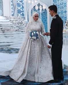 What would your wedding dress be like ? Disney Wedding Dresses, Pakistani Wedding Dresses, Bridal Dresses, Wedding Gowns, Wedding Cakes, Hijabi Wedding, Muslimah Wedding Dress, Modest Wedding, Said Mhamad Photography