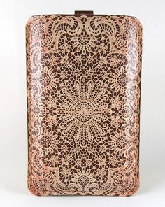 leather and lace iphone case.  pretty.