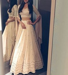 in our dark beige lehenga set ❣️ Swipe right to see the details Jewellery .… WhatsApp us for more details : in our dark beige lehenga set ❣️ Swipe right to see the details Jewellery .… WhatsApp us for more details : Indian Bridal Outfits, Indian Designer Outfits, Indian Wedding Wear, Punjabi Wedding, Indian Weddings, Designer Dresses, Indian Attire, Indian Ethnic Wear, Lehnga Dress