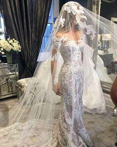 Steven Khalil Pre-Owned Wedding Dress on Sale 33% Off