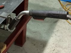Welding: Mig Gun Holder Clamp