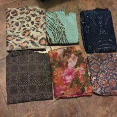 Scarf hijab bundle 6 scarves light great for spring or summer Other