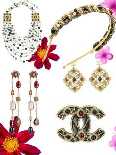 Chanel jewelry, luxurious and elegant Empire mood