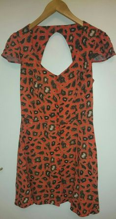 Topshop dress, £4.75 - Shelter