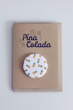 TASCHENSPIEGEL   Pina Colada von Jennemarie Paperlove auf DaWanda.com