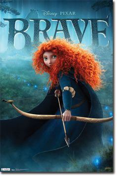 Ribelle The Brave Film Completo. Determined to make her own path in life, Princess Merida defies a custom that brings chaos to her kingdom. Granted one wish, Merida must rely on her bravery and her archery skills to undo a beastly curse. Disney Pixar, Disney Test, Arte Disney, Disney Movies, Disney Characters, Princesa Merida Disney, Disney Princess Merida, Brave Princess, New Disney Princesses