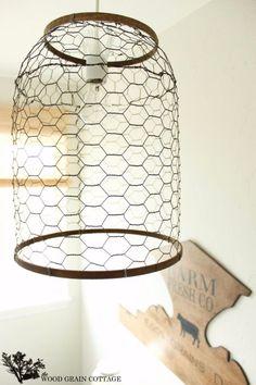 DIY Farmhouse Style Decor Ideas - Laundry Room Farmhouse Light - Rustic Ideas for Furniture, Paint Colors, Farm House Decoration for Living Room, Kitchen and Bedroom http://diyjoy.com/diy-farmhouse-decor-ideas