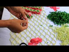 How To Make Garland, Diy Garland, Floral Garland, Flower Garlands, Flower Decorations, Wedding Hall Decorations, Festival Decorations, Beautiful Rangoli Designs, Bridal Flowers