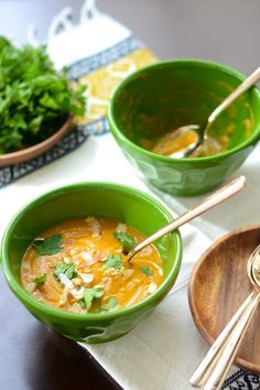 Tuesday Tastings :: Coconut Carrot Soup