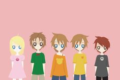 five nights at freddy's the five children - Google Search