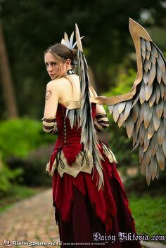 Fantasy Layered Dress for Bird or Fairy