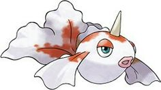 Goldeen #118 Water type  Generation 1 Height 2′0″ (0.61m) Weight 33.1 lbs (15.0 kg) Gender: 50% male 50% female  Egg