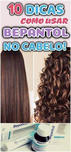 Como usar Bepantol no cabelo: 10 receitas simples e eficientes - Hair Care Routine, Hair Care Tips, Bonde Hair, Beauty Secrets, Beauty Hacks, Curly Hair Styles, Natural Hair Styles, Extreme Hair, Stop Hair Loss